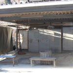 倉庫入口(外観)